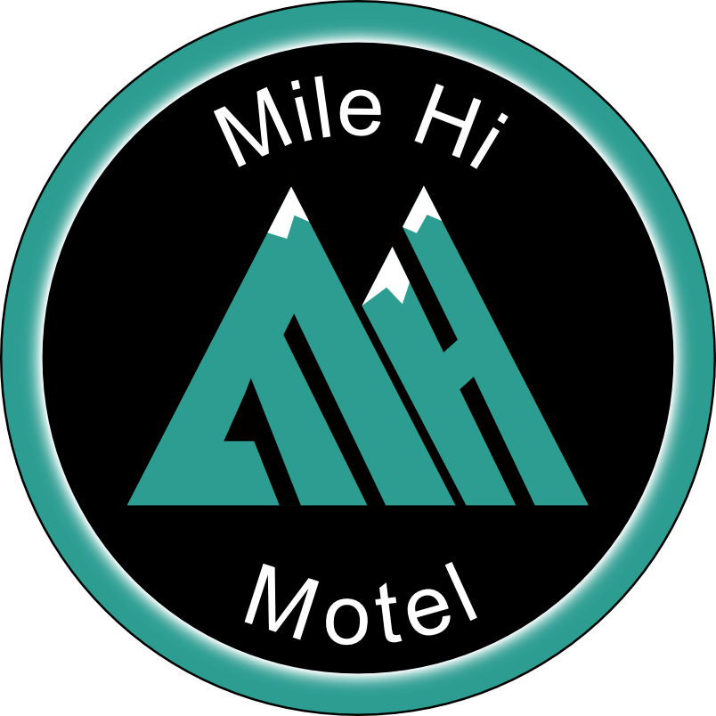 Black Hills Mile Hi Motel Logo